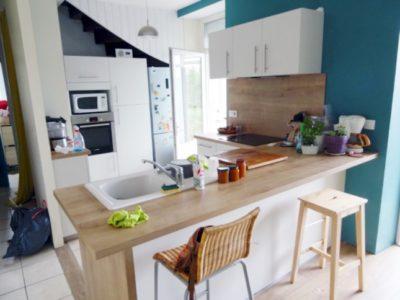 Aménager une cuisine ouverte sur le salon – Simon Mage