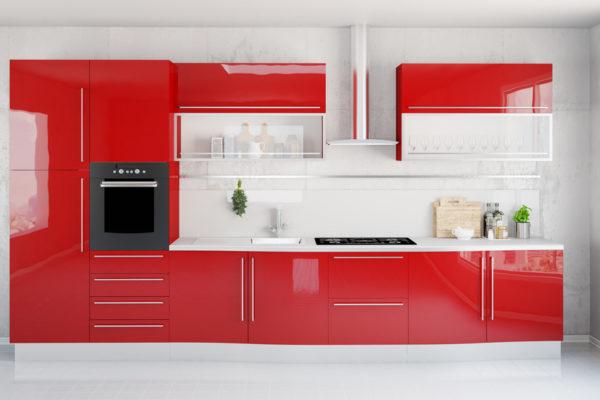 Nos conseils pour une cuisine rouge moderne