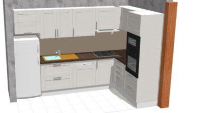 Projet de rénovation de cuisine près de Brive