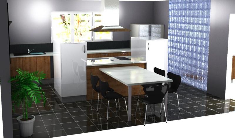 Ultra Choisir un îlot central dans sa cuisine - Cuisines Simon Mage BX-54