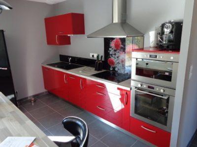 Installation d'une nouvelle cuisine à Bretenoux