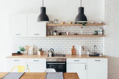 Une cuisine moderne, à faible consommation d'énergie