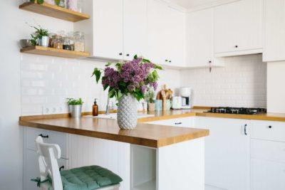 La céramique dans une cuisine moderne