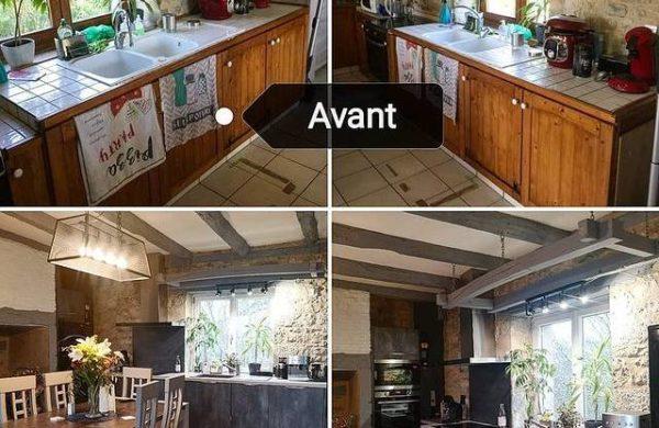 Une rénovation de cuisine sur-mesure dans une maison en vieille pierre